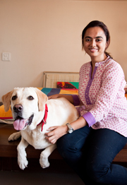 Janvi Shethia at Animal Angels Foundation